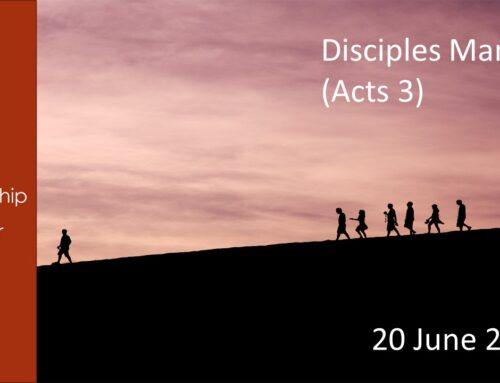 Discipleship Acts 3